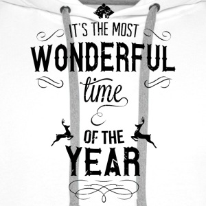 most_wonderful_time_of_the_year_b T-Shirts - Men's Premium Hoodie