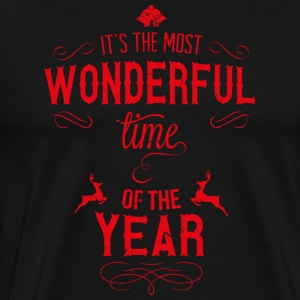 most_wonderful_time_of_the_year_r Tröjor - Premium-T-shirt herr