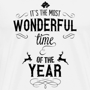 most_wonderful_time_of_the_year_b Tank Tops - Men's Premium T-Shirt