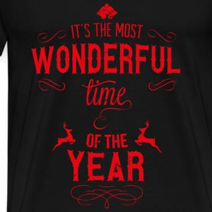 most_wonderful_time_of_the_year_r Tops - Men's Premium T-Shirt