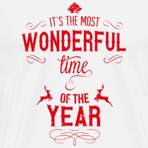 most_wonderful_time_of_the_year_r Tanktops - Mannen Premium T-shirt
