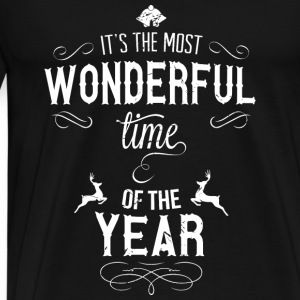 most_wonderful_time_of_the_year_w Tröjor - Premium-T-shirt herr