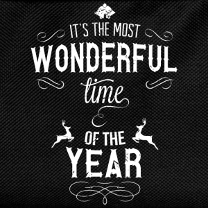 most_wonderful_time_of_the_year_w T-shirts - Rugzak voor kinderen