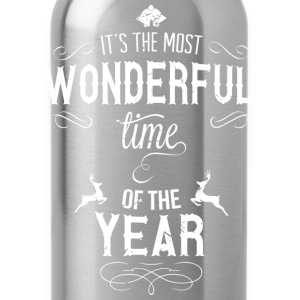 most_wonderful_time_of_the_year_w T-shirts - Drinkfles