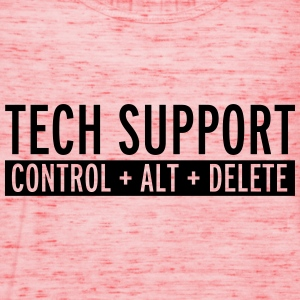 Tech Support  Sweatshirts - Dame tanktop fra Bella
