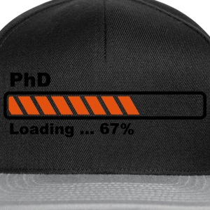 PhD loading bar Shirts - Snapback Cap