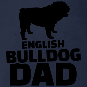 English Bulldog Dad T-Shirts - Baby Bio-Kurzarm-Body
