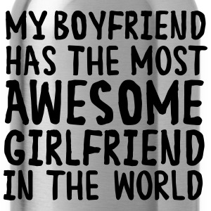 Awesome Girlfriend Sudaderas - Cantimplora