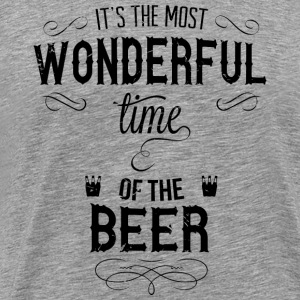 most_wonderful_time_of_beer_b Tanktops - Mannen Premium T-shirt