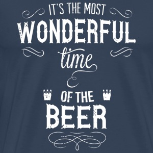 most_wonderful_time_of_beer_w Tank Tops - Männer Premium T-Shirt