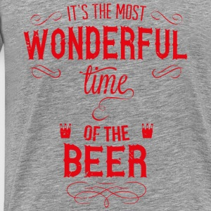 most_wonderful_time_of_beer_r Débardeurs - T-shirt Premium Homme