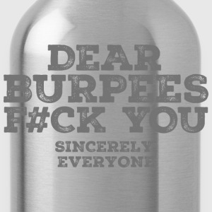 Dear Burpees F#CK You Koszulki - Bidon