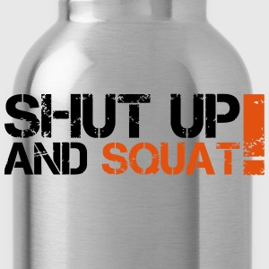 Shut Up And Squat Canotte - Borraccia