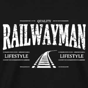 Railwayman Long sleeve shirts - Men's Premium T-Shirt