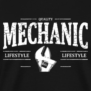 Mechanic Long Sleeve Shirts - Men's Premium T-Shirt