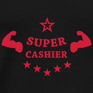 Super Cashier Mugs & Drinkware - Men's Premium T-Shirt