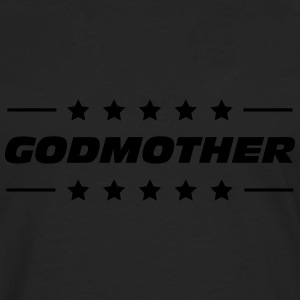 Godmother T-skjorter - Premium langermet T-skjorte for menn