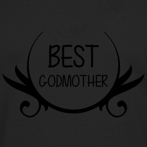 Best Godmother T-skjorter - Premium langermet T-skjorte for menn