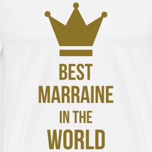 Best Marraine in the world ! Schürzen - Männer Premium T-Shirt