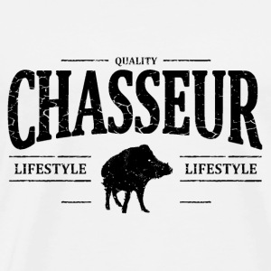 Chasseur Sweat-shirts - T-shirt Premium Homme