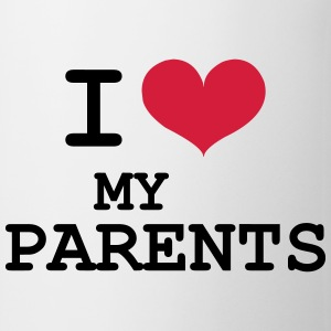 I Love Parents Hoodies - Mug