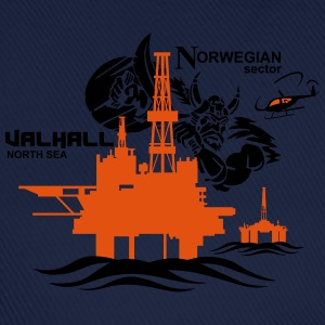 Valhall Oil Rig Platform Noth Sea Norway - Baseball Cap