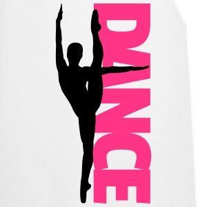 Dance Text Girl  Camisetas - Delantal de cocina