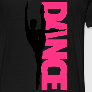 Dance Text Girl  Hoodies - Men's Premium T-Shirt