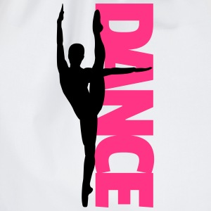 Dance Text Girl  Camisetas - Mochila saco