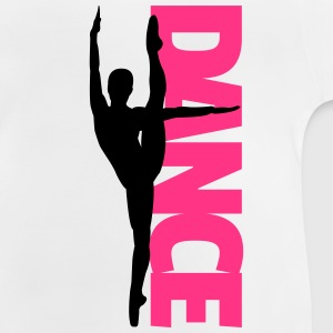 Dance Text Girl  Tee shirts - T-shirt Bébé