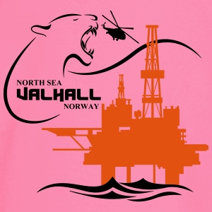 Valhall Oil Rig Platform Noth Sea Norway - Baby Long Sleeve T-Shirt
