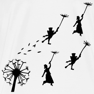flying Dandelion - Men's Premium T-Shirt