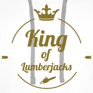 King of Lumberjacks T-shirts - Premiumluvtröja herr