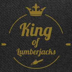 King of Lumberjacks Camisetas - Gorra Snapback