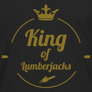 King of Lumberjacks Camisetas - Camiseta de manga larga premium hombre