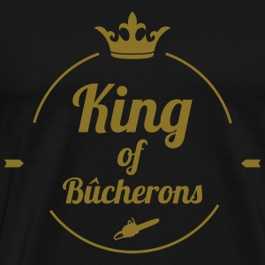 King of Bûcherons Tabliers - T-shirt Premium Homme