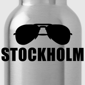 Coole Stockholm Sonnenbrille T-Shirts - Trinkflasche