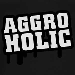 aggroholic Tops - Men's Premium T-Shirt