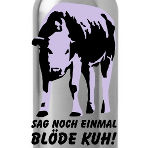 Dumme Kuh? T-Shirts - Trinkflasche