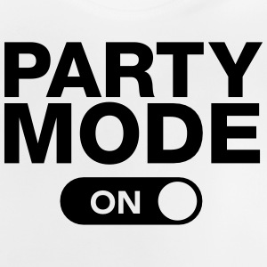 Party Mode (On) Camisetas - Camiseta bebé