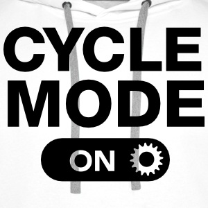 Cycle Mode (On) T-Shirts - Men's Premium Hoodie