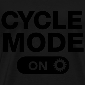 Cycle Mode (On) Sweaters - Mannen Premium T-shirt