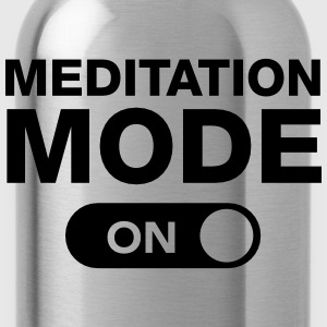 Meditation Mode (On) T-shirts - Vattenflaska