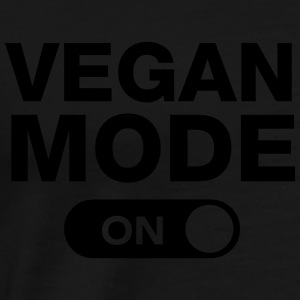 Vegan Mode (On) Gensere - Premium T-skjorte for menn