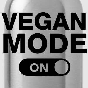 Vegan Mode (On) Shirts - Water Bottle
