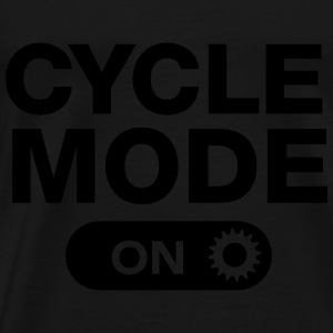 Cycle Mode (On) Tops - Men's Premium T-Shirt