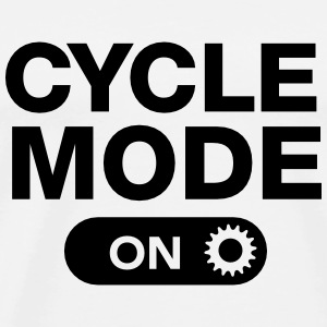 Cycle Mode (On) Singlets - Premium T-skjorte for menn