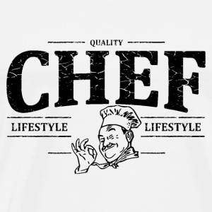 Chef Sweat-shirts - T-shirt Premium Homme