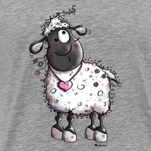 Dreamy Sheep  Long sleeve shirts - Men's Premium T-Shirt