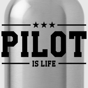 Pilot is life Shirts - Drinkfles